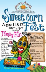 poster jerry smith farms cornfest
